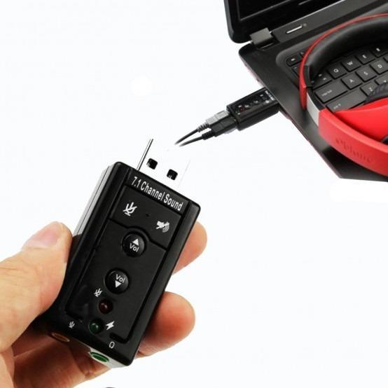 TARJETA USB SONIDO 7.1