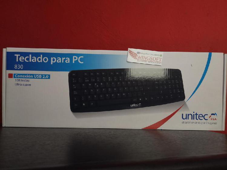 Teclado para PC Unitec 830