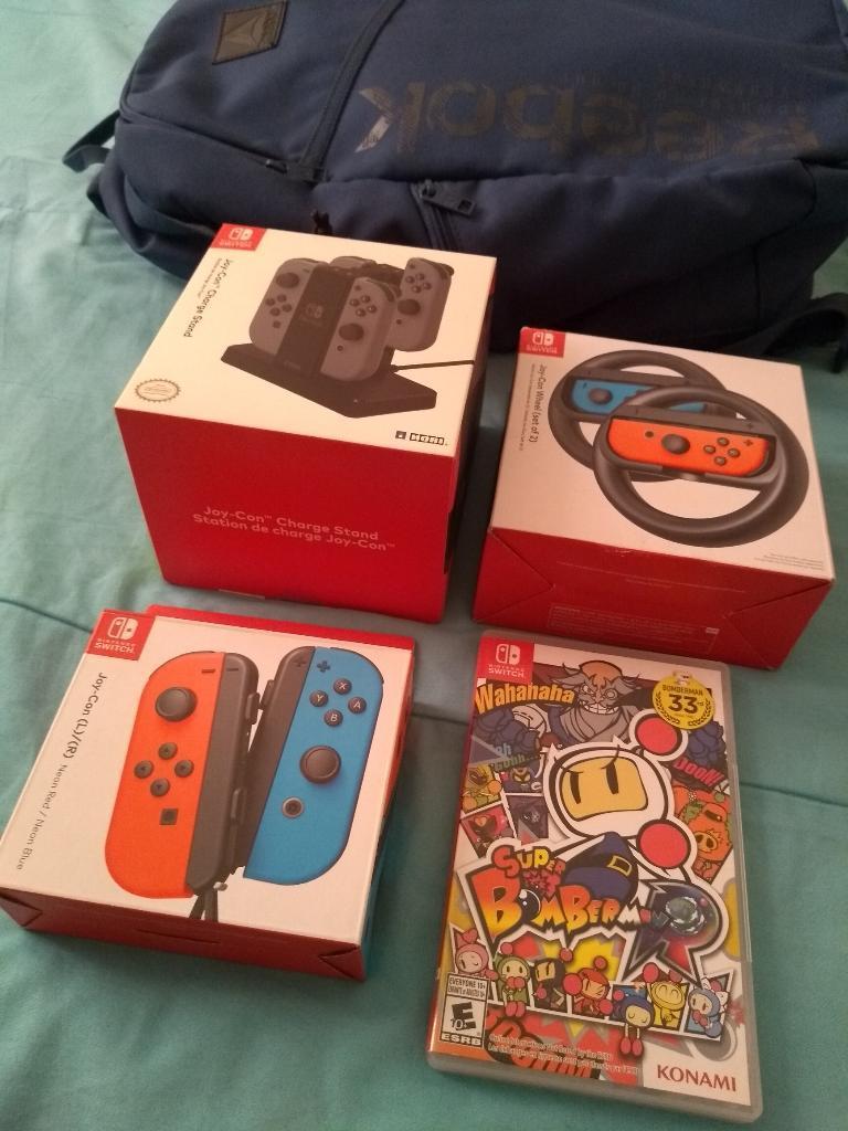 Articulos Originales Nintendo Switch
