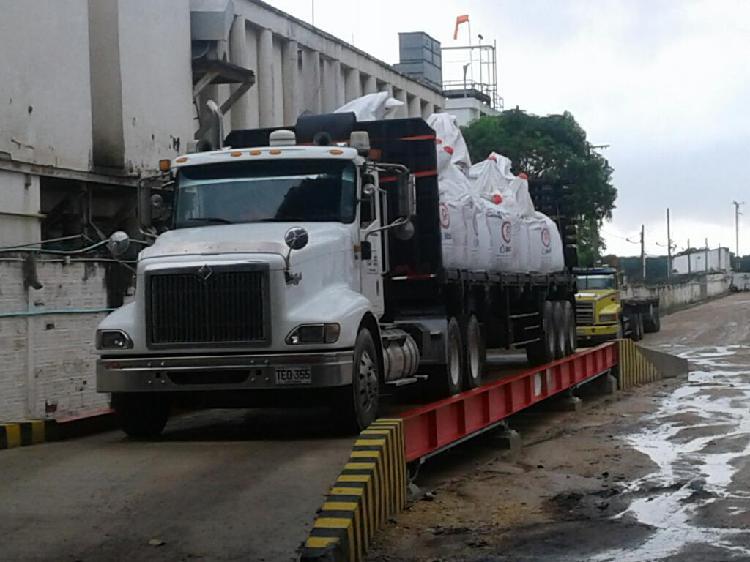 Bascula Camionera Pesaje.