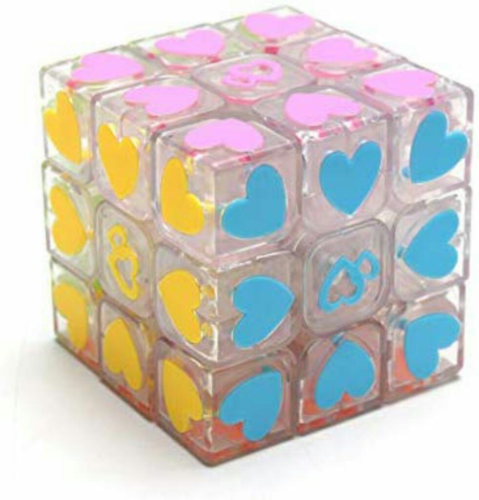Cubo Rubik Corazón