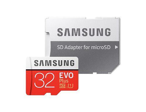 Memoria Micro Sd 32gb Clase 10 Samsung Evo Plus 95mb/s