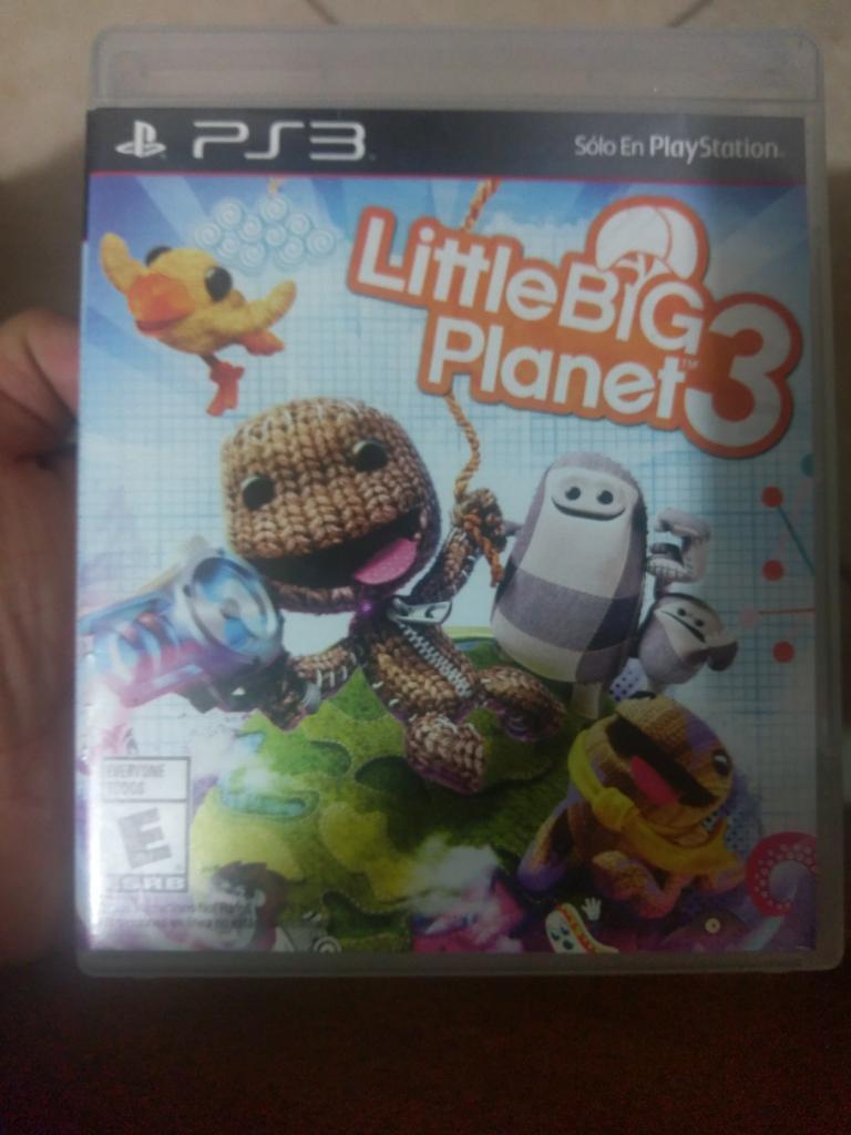 Película Little Big Planet 3 Ps3