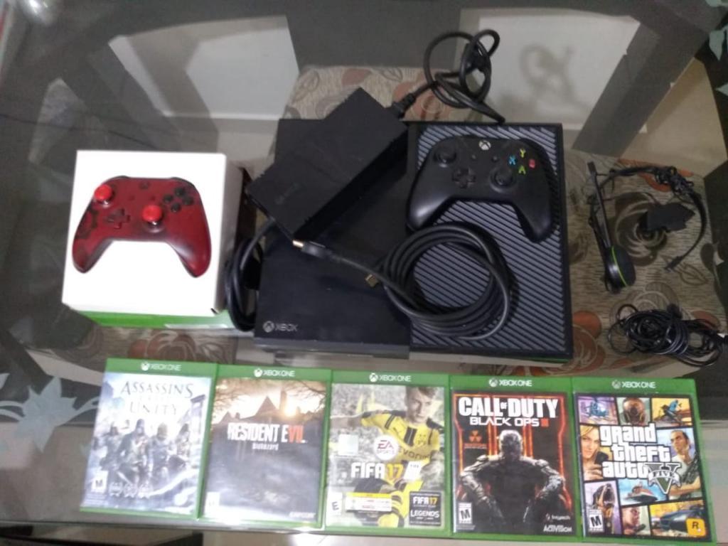 Se Vende Xbox One de 500 Como Nuevo
