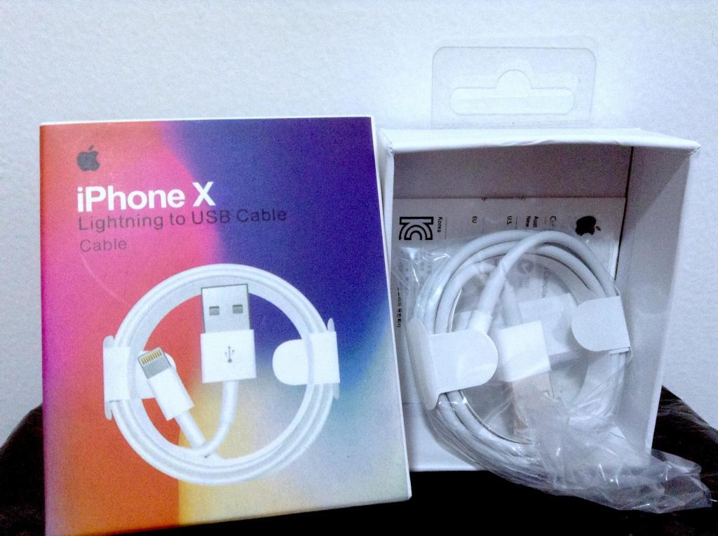 Cable Lightning Original iPhone X/8 Plus/8/7Plus/7 Nuevo