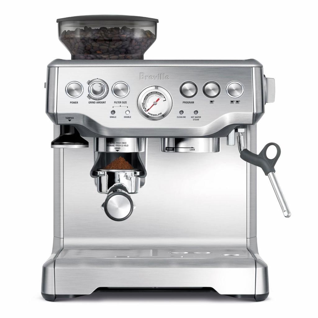 MAQUINA DE CAFE BREVILLE 870 CON MOLINO ENTEGA 10 DIAS