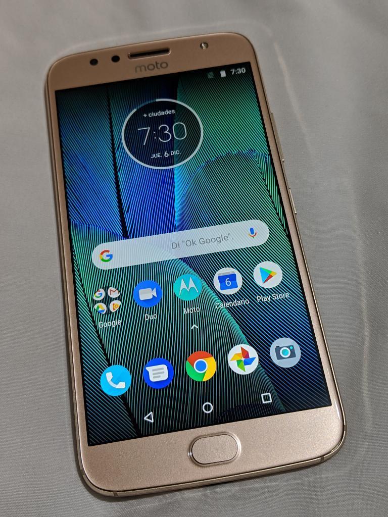 Motorola G5s Plus Dual Sim Dorado