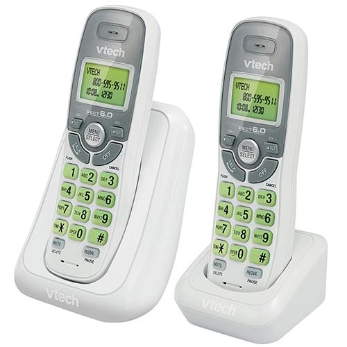 Teléfono Inalámbrico Doble Auricular Vtech Cs