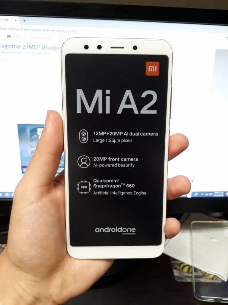 Xiaomi Mi A2 6gb Ram 128 de Almacenamien