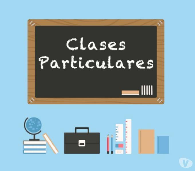 Asesorias y clases particulares Matematicas Fisica Quimica