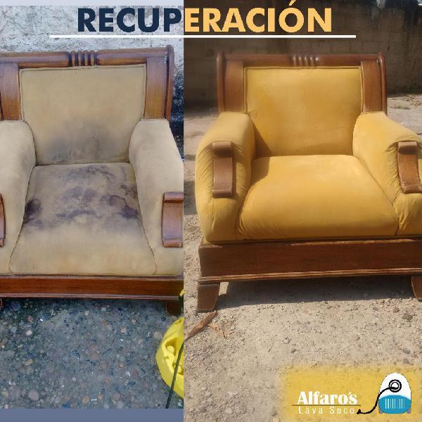 Lavado de muebles en seco