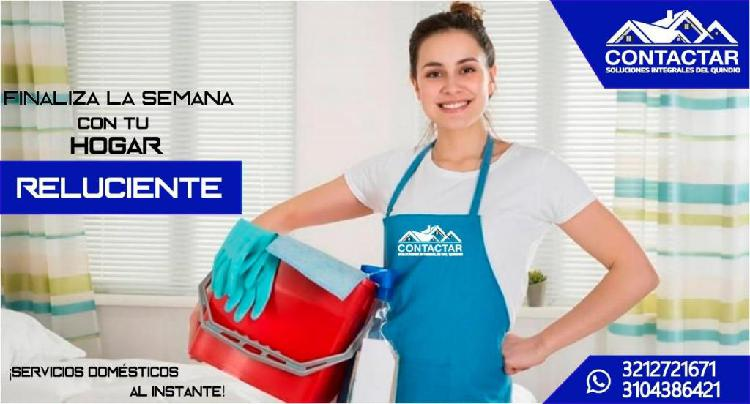 SERVICIO DOMÉSTICO PARA TU HOGAR