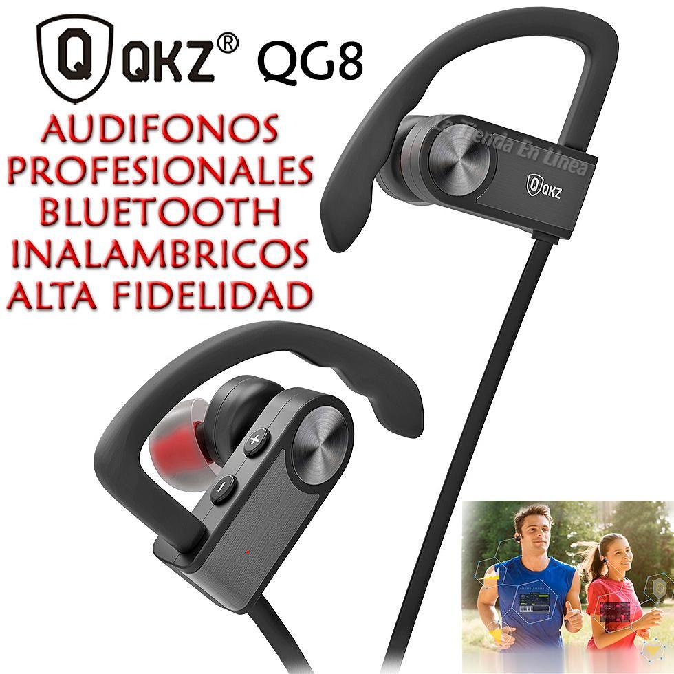 Audifonos Profesionales Bluetooth Inalambricos Qkz Gc8 Hifi