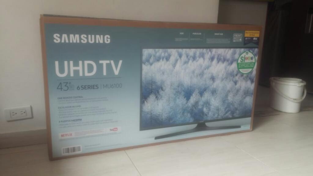 Ganga 4k Uhd de 43 Samsung Smartv Barato
