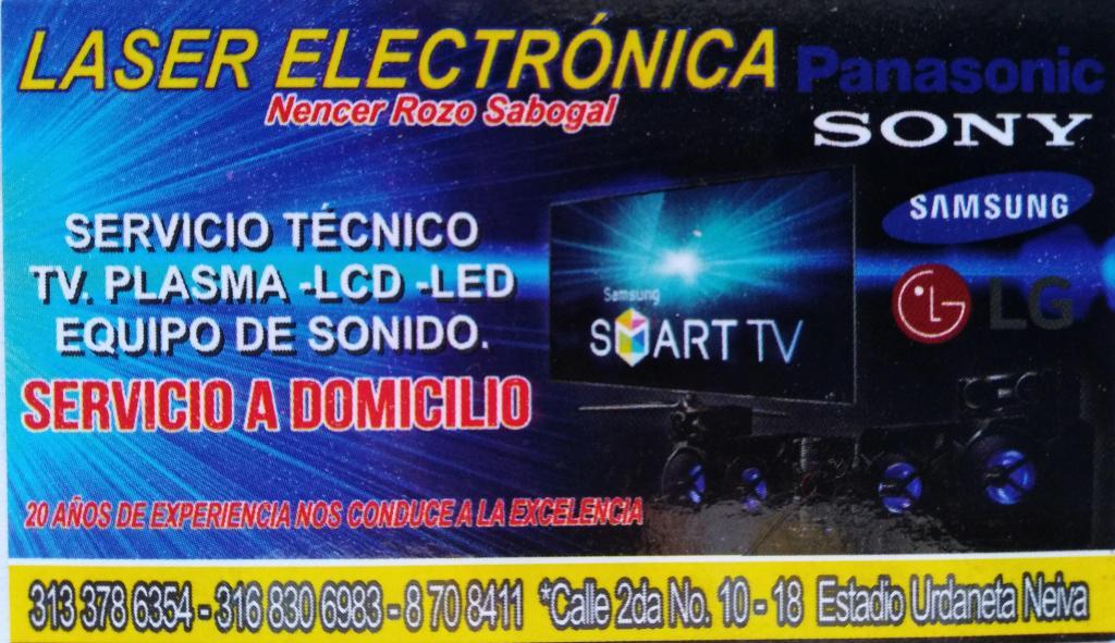Reparación de televisores PLASMA LCD LED/ Se compran TVs