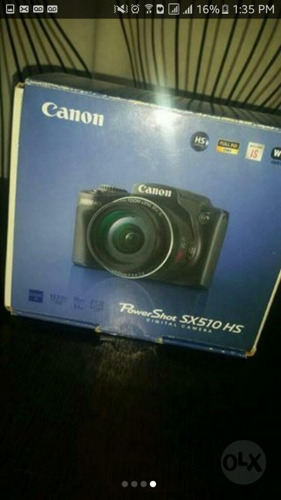Vendo Camara Semi Profesional Canon