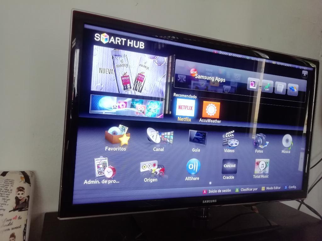 Vendo Televisor Smart Samsung de 42 Pul