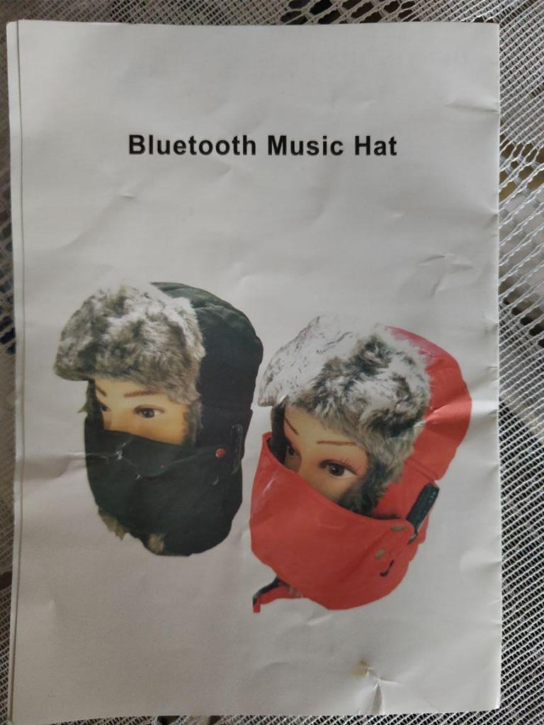 gorro navidad nuevo bluetooth manos libres musica llamadas