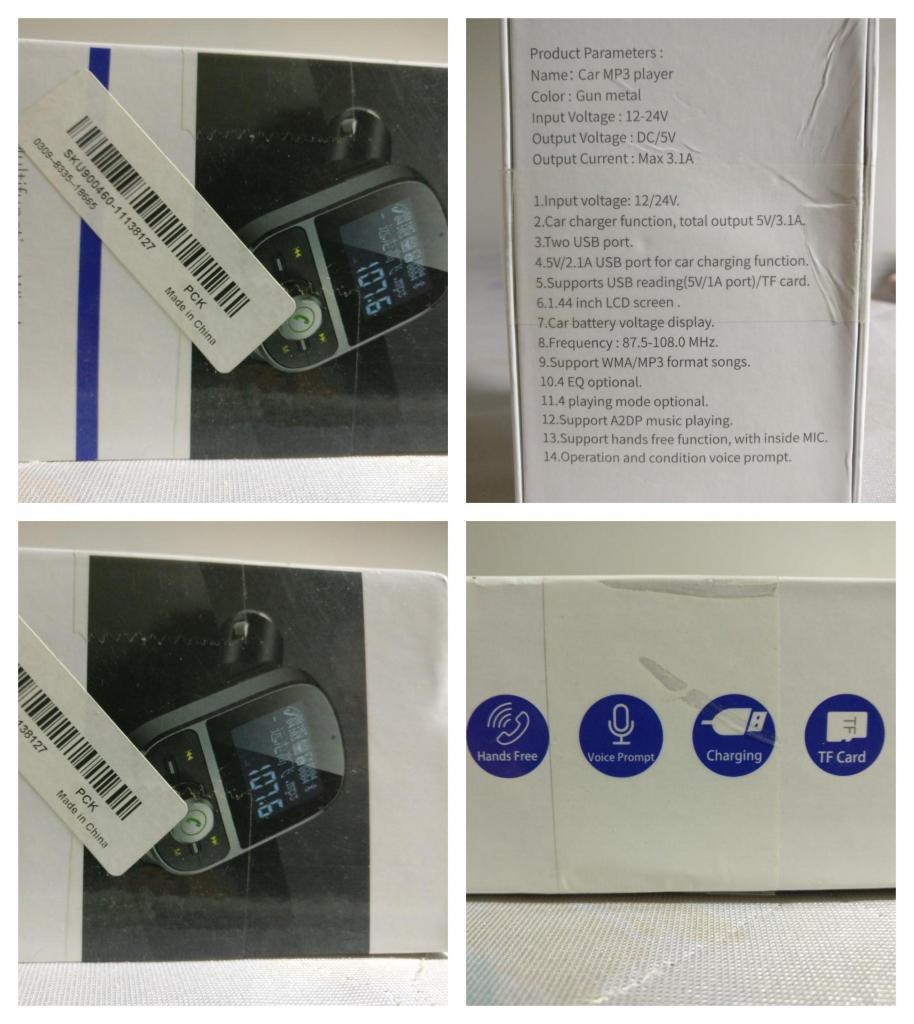 transmisor fm para radios de carro que no tienen funciones