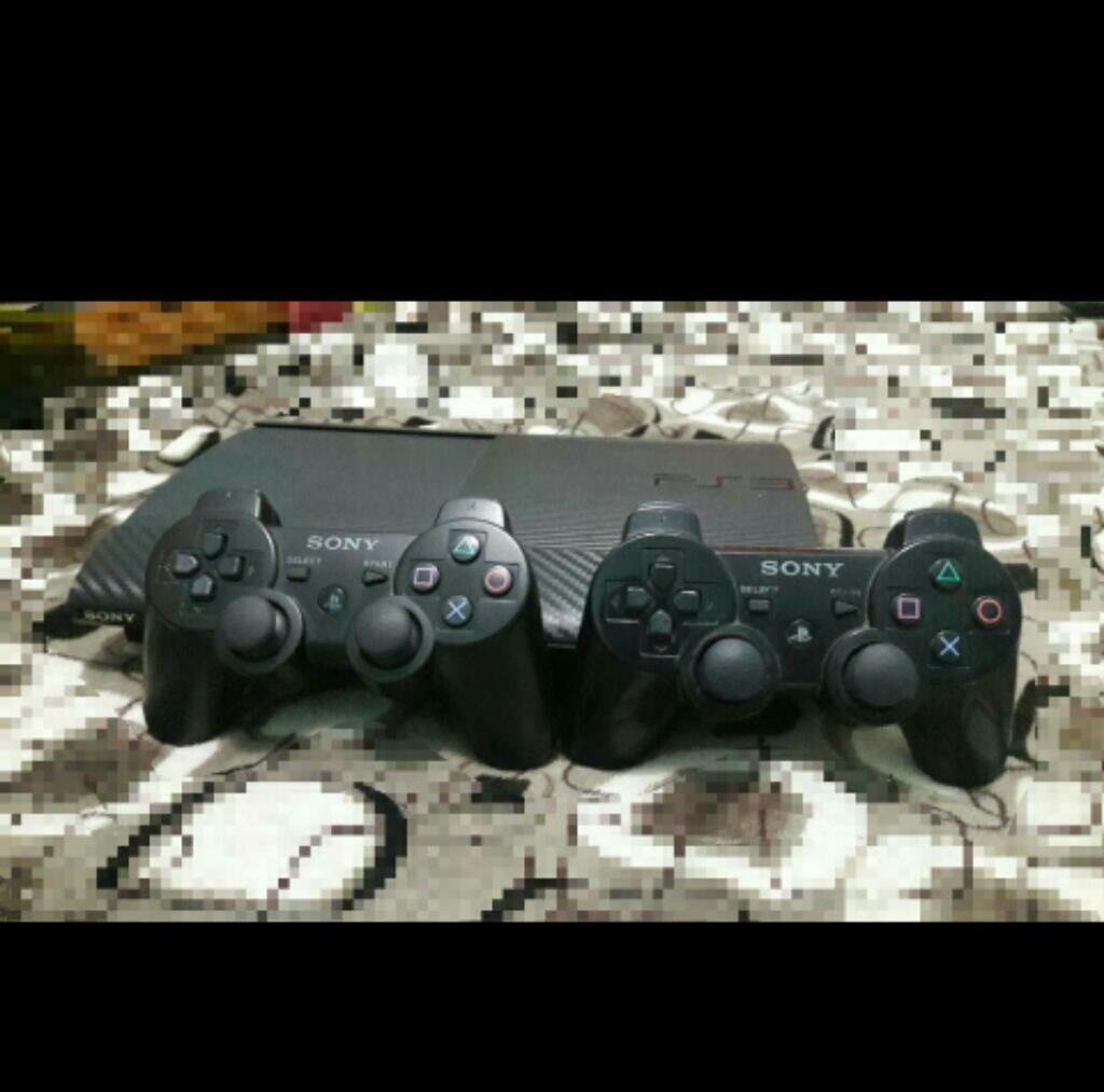 Hermoso Ps3 Super Slim 500gb Juego Jncor