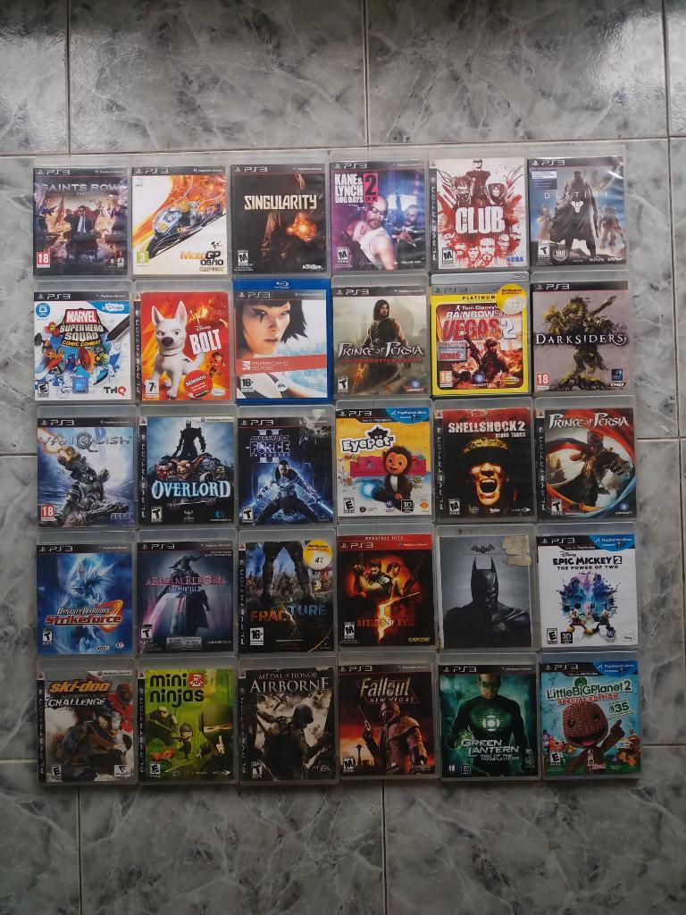 Juegos Ps3 20 Mil Cada Uno