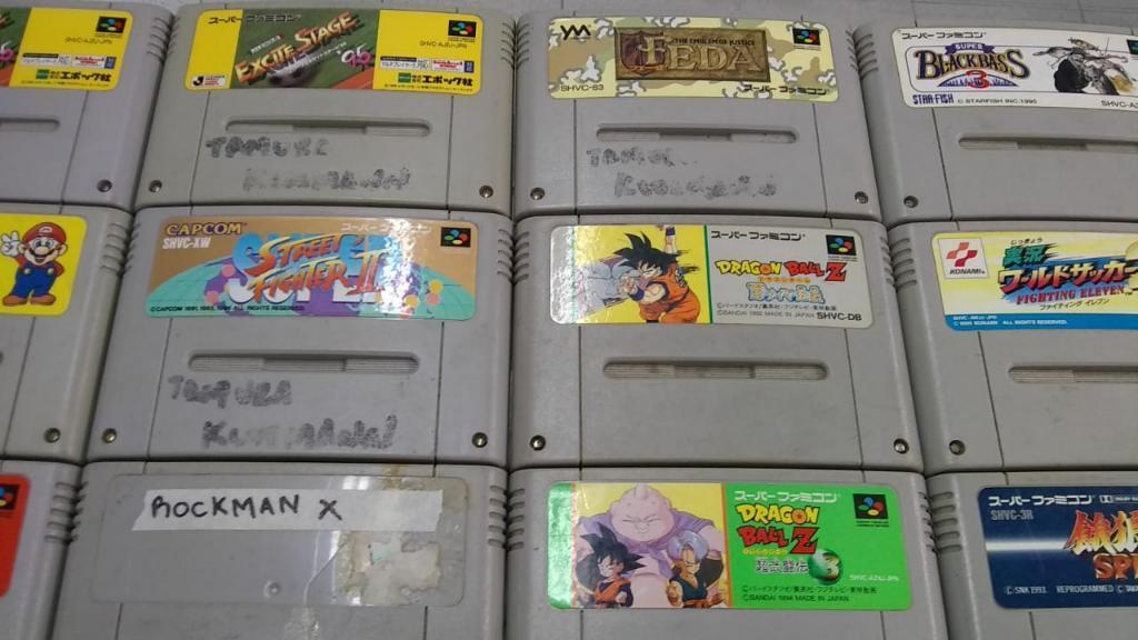 Juegos de Super Nintendo Famicon