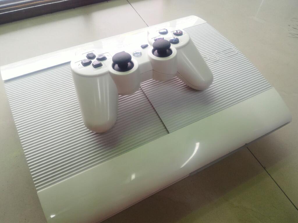 Play 3 Super Slim 500gb Paquete Juegos