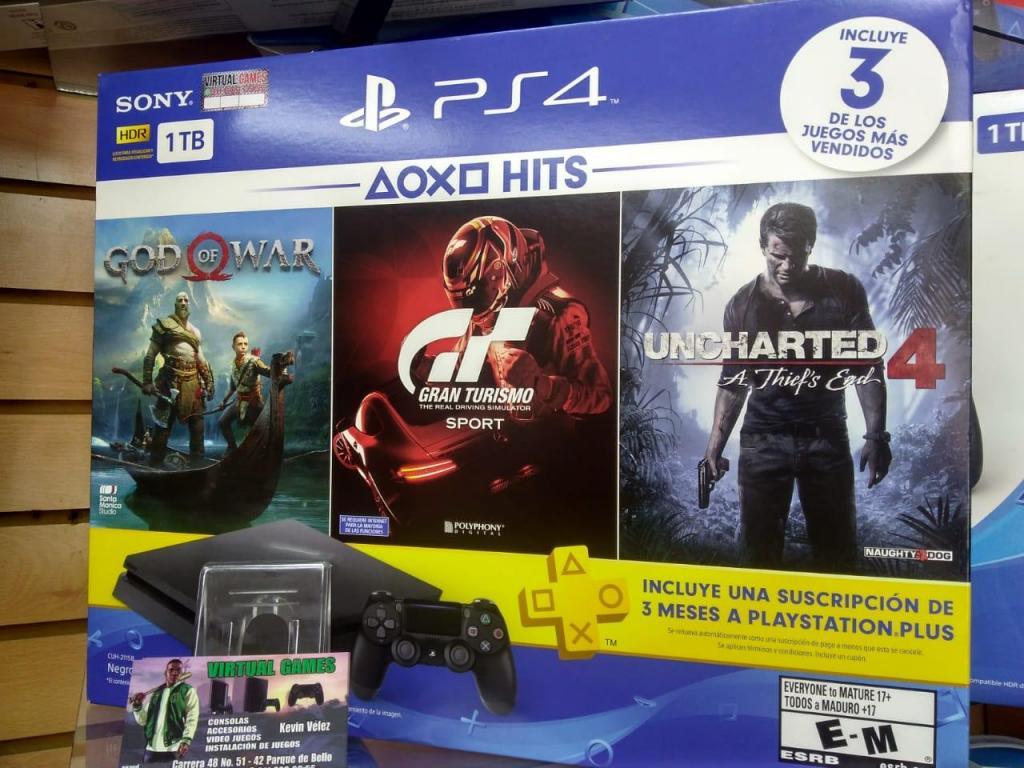 Play Station 4 PS4 NUEVOS! GANGAZO APROVECHE! PRECIO DE