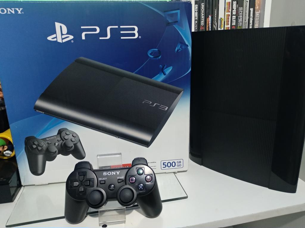 Playstation 3 Super Slim 50 Gigas 4 Jueg