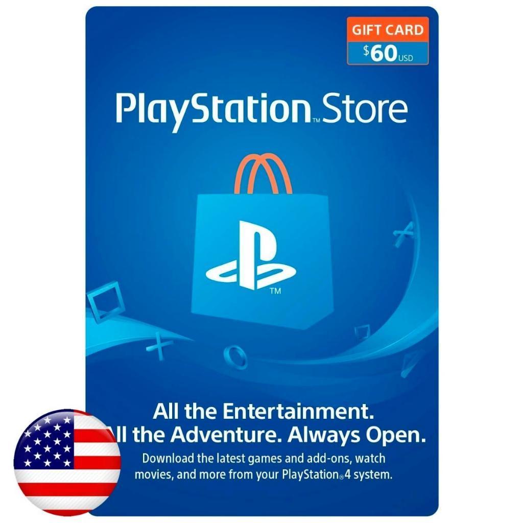 Playstation Gift Card, Tarjetas Usa