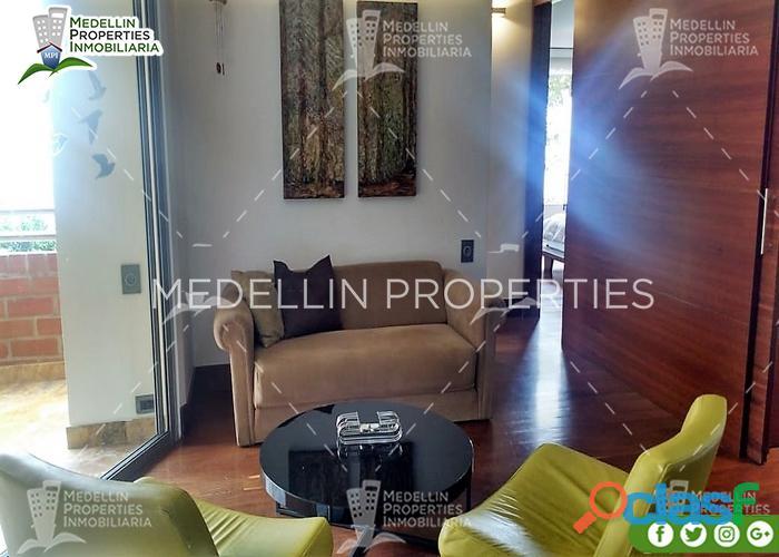 Alquiler Temporal de Apartamentos en el Poblado Cod: 4984