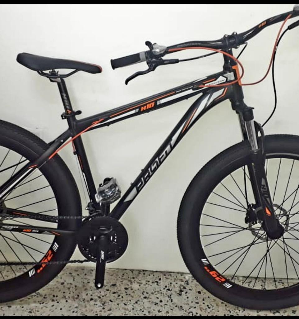Bicicleta Boston Rin 29, Bloqueo, Nueva