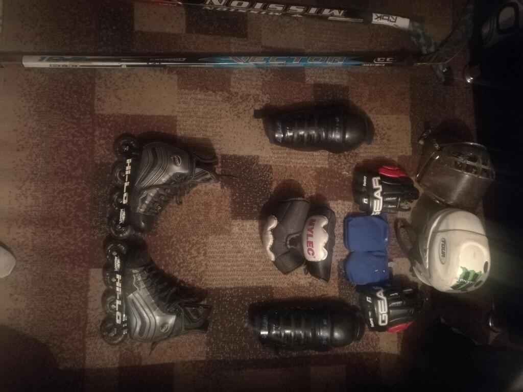 Equipo Completo de Hockey en Linea.