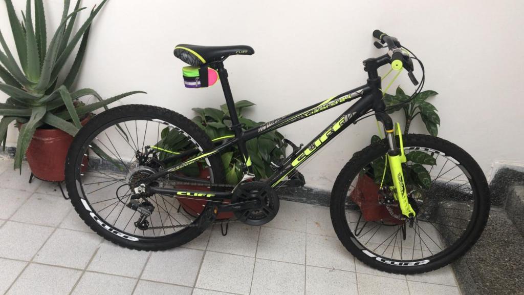 Vendo Bicicleta en Aluminio