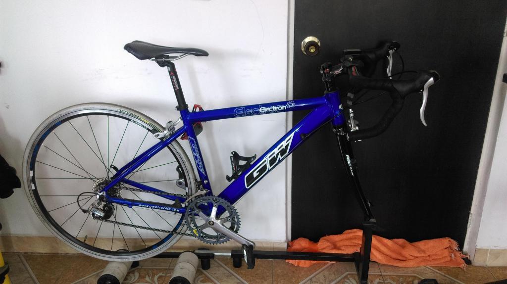 bicicleta de carreras gw 48 ALUMINIO
