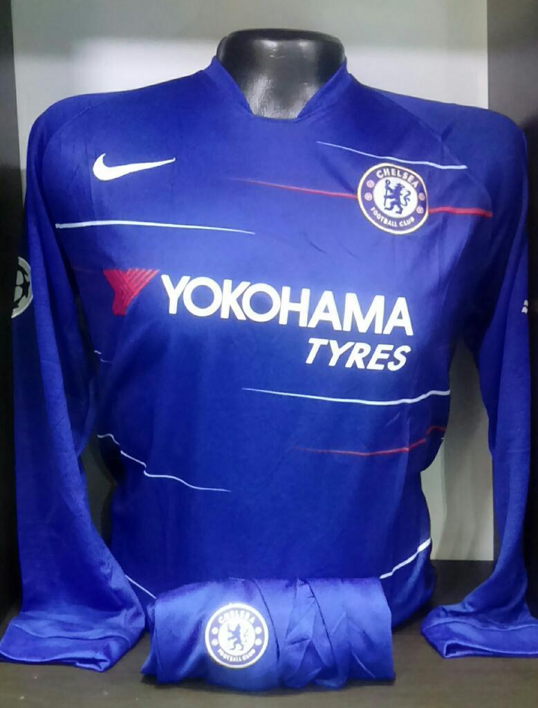 Camiseta Chelsea Manga Larga para Hombre