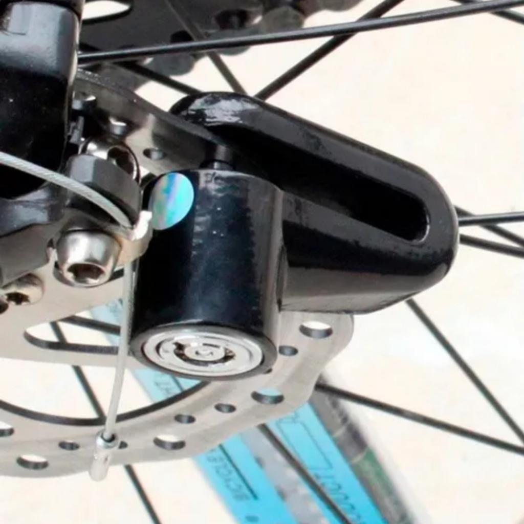 Candado de Moto Y Bicicleta Freno Disco