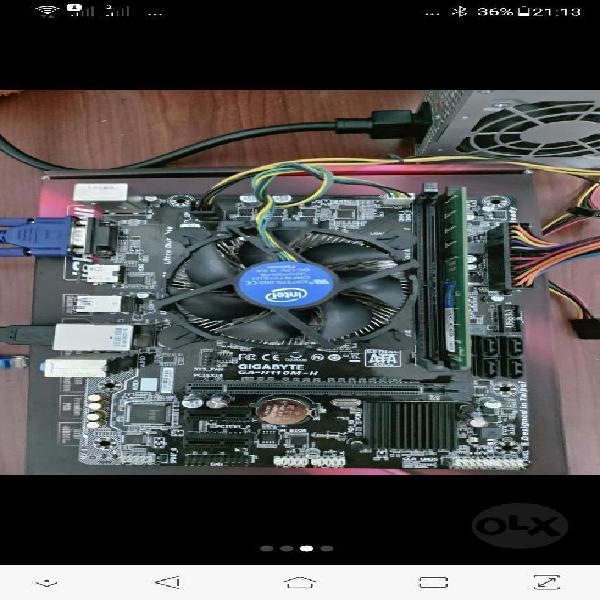 Combo Board Gigabyte Mas Core I5 7400t