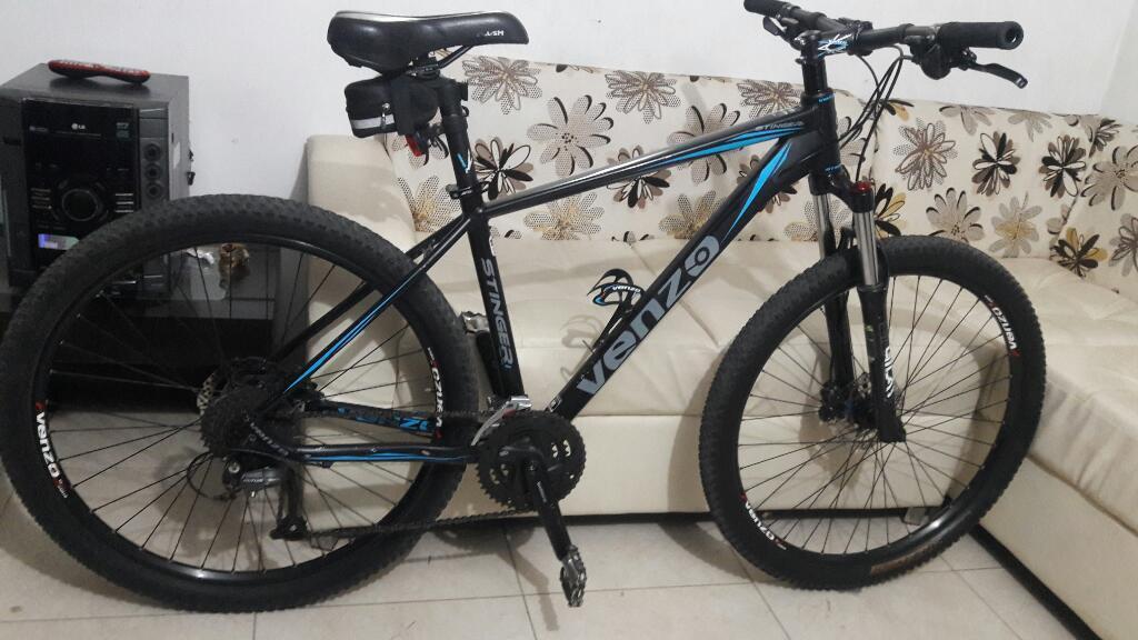 Hermosa Bicicleta Venzo Como Nueva