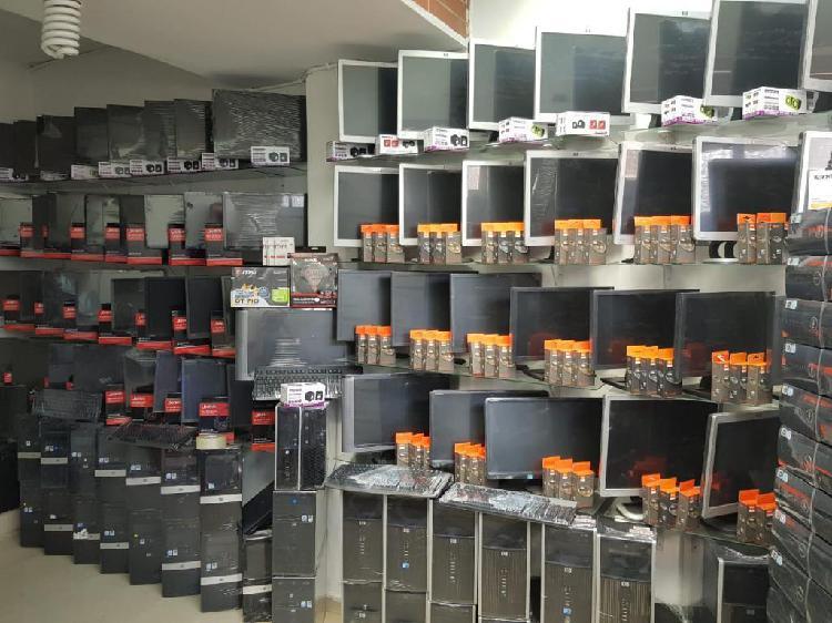 OFERTA PC HP INTEL PENTIUM D CON MONITOR DE 17 HP FACTURA Y