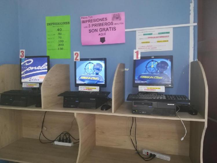 VENDO 3 COMPUTADORES MESA CORPORATIVOS COMPLETOS MUY BUEN