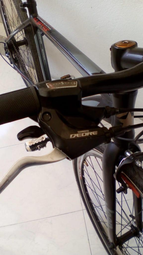 bicicleta rin 28 jeep aluminio shimano deore
