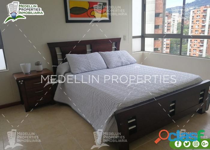 Apartamentos Amoblados en Alquiler El Poblado Cod: 5004