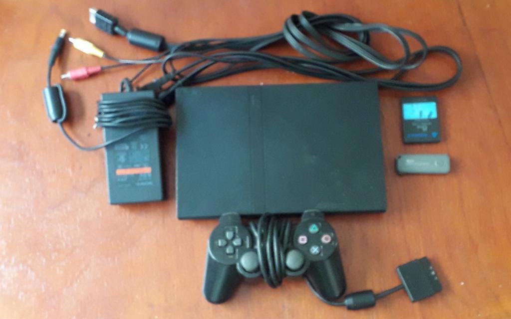 Playstation 2 Ps2 Un Control Y Memoria,