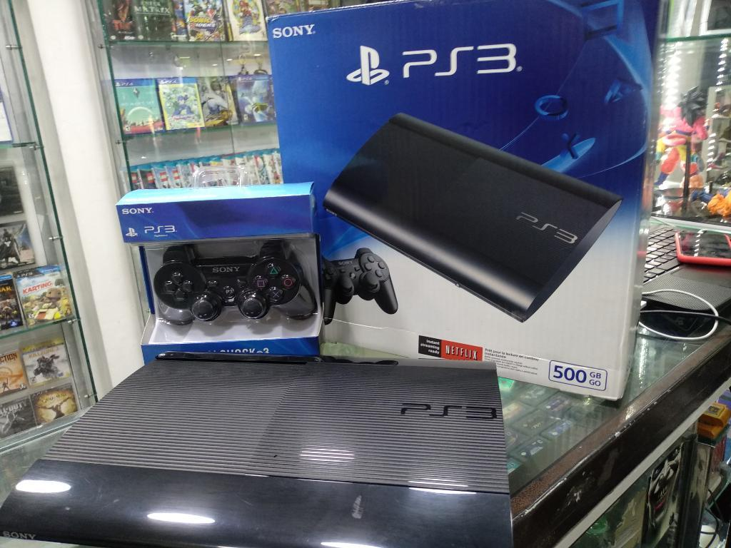 Playstation 3 Super Slim con 110 Juegos