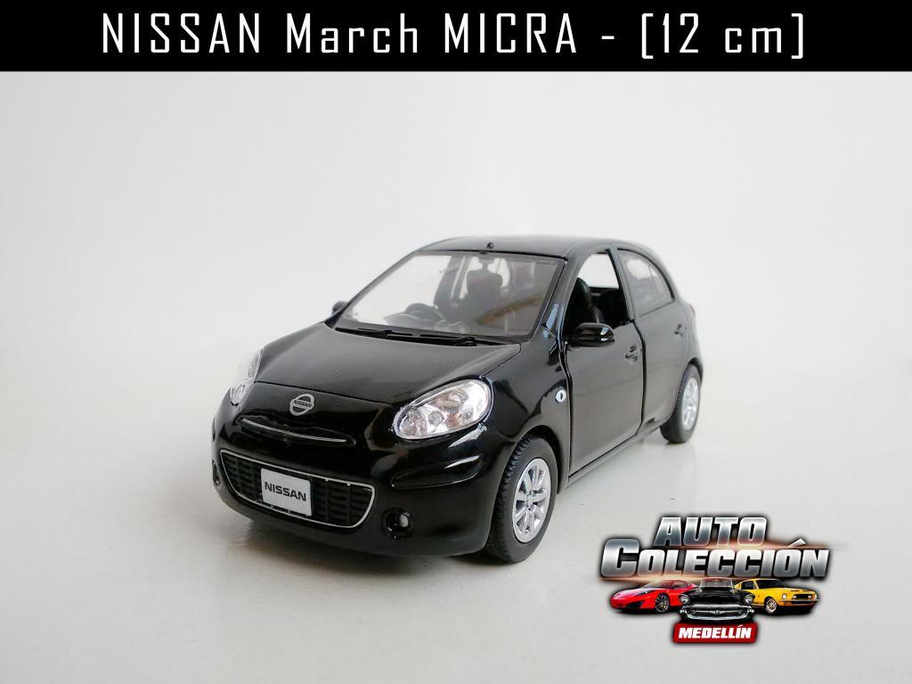 Auto de Colección NISSAN March Micra 12 cm