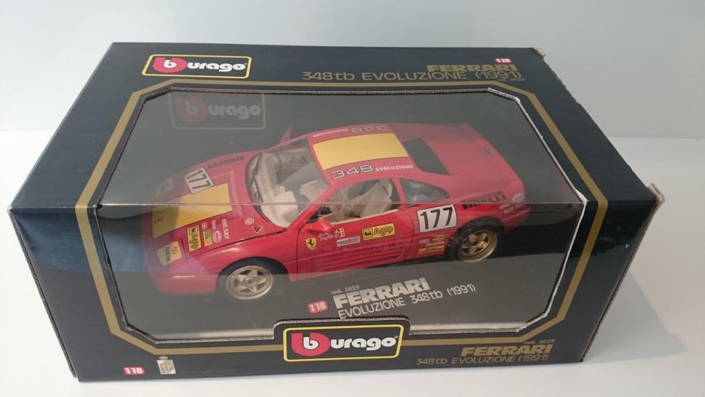 Burago Ferrari 348 TB escala 1/18