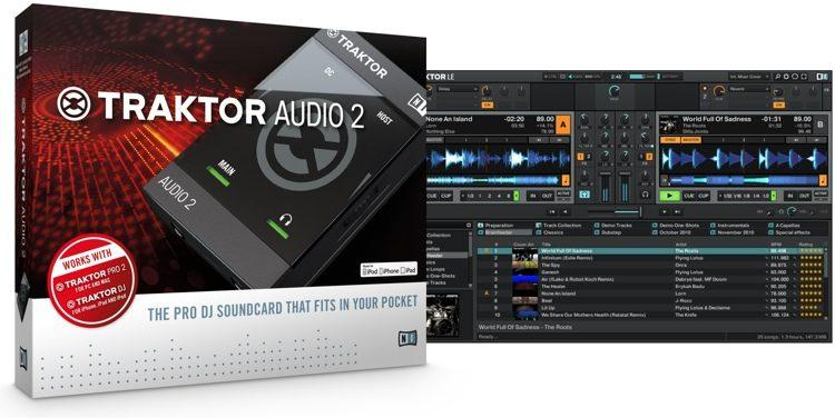 Interfaz De Audio Native Instruments Traktor Audio 2 Dj Mk2