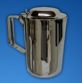 jarra para agua 2 litros con tapa en acero