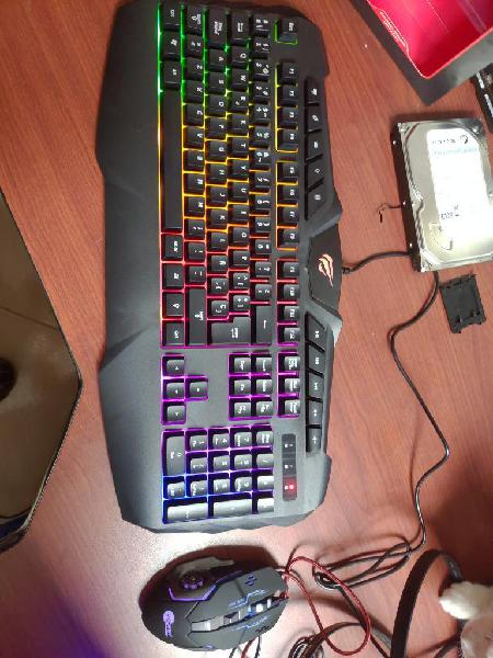 Combo Teclado Gamer Havit Y Mouse Jeway